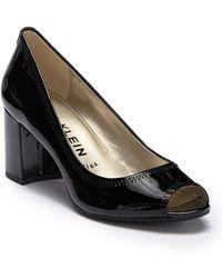 Anne Klein - Meredith Slip-on Leather Dress Pumps - Lyst