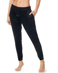 Room Service - Velour Jogger Pants (nordstrom Exclusive) - Lyst
