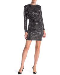 Alexia Admor - Embellished Drape Bodice Dress - Lyst