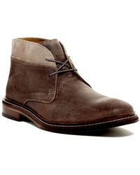 Cole Haan Benton Welt Suede Leather Chukka Boot - Wide Width Available - Brown