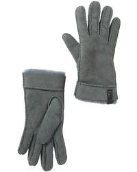 UGG - Water Resistant Genuine Sheepskin Convertible Cuff Gloves - Lyst