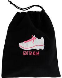 MIAMICA - 'gotta Run' Iridescent Sneaker Shoe Bag - Lyst