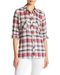 Soft Joie - Lilya Plaid Shirt - Lyst