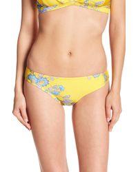 Sam Edelman - Floral Brief Bikini Bottom - Lyst