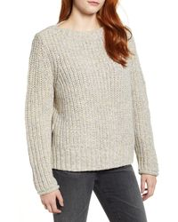Caslon Boat Neck Sweater - Natural