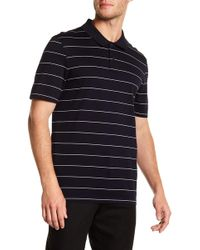 Vince - Pencil Striped Polo Shirt - Lyst
