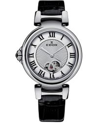 EDOX Watches Women's Lapassion Open Heart Swiss Automatic Watch, 33mm - Metallic