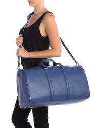Matt & Nat Dwell Vegan Leather Weekend Bag - Blue