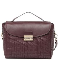 Cole Haan Quilted Leather Satchel - Multicolour