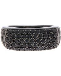 Effy - 925 Sterling Silver Black Spinel Ring - Lyst