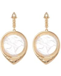 House of Harlow 1960 - Luna Stone Statement Earrings - Lyst