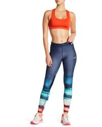 New Balance | Impact Print Tights | Lyst