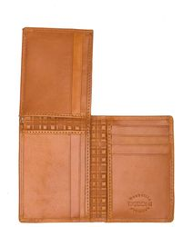 Boconi L Fold Wallet - Brown
