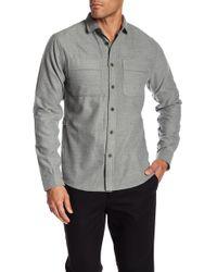 Descendant Of Thieves - Flannel Work Wear Shirt - Lyst