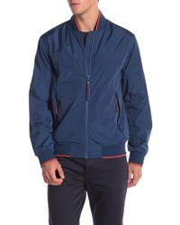 Andrew Marc - Barracuda Mock Collar Jacket - Lyst