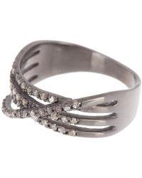 Adornia - Multi Band Diamond Ring - 0.40 Ctw - Lyst