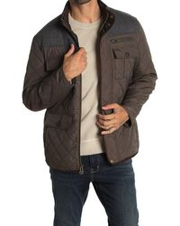Cole Haan - Quilted Utility Pocket Jacket - Lyst
