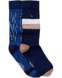 Richer Poorer - 2-pack Crew Socks - Lyst