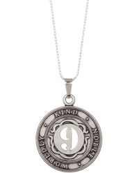 ALEX AND ANI | Numerology Number 9 Charm Adjustable Necklace | Lyst