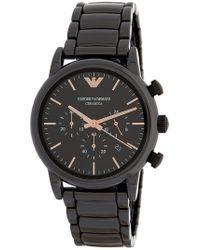 Emporio Armani - Men's Dress Bracelet Watch, 43mm - Lyst