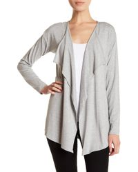Vince Camuto - Open-front High-low Cardigan - Lyst