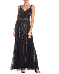 Marina - Beaded Gown - Lyst