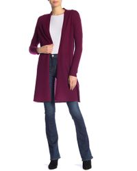 In Cashmere - Open Front Cashmere Duster - Lyst