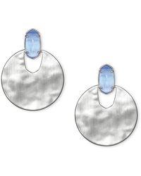 Kendra Scott Deena Earrings - Metallic