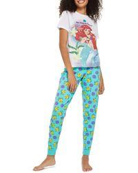 TOPSHOP - The Little Mermaid - Mermaids Do It Better Pyjamas - Lyst