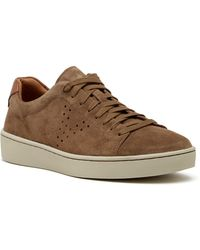 Vince - Simon Perforated Suede Sneaker - Lyst