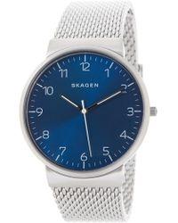 Skagen - Men's Ancher Mesh Bracelet Watch, 40mm - Lyst