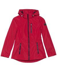 Nautica Short Zip Front Jacket - Red