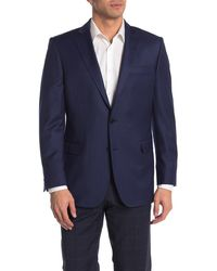 Brooks Brothers Blue Gingham Two Button Notch Lapel Wool Blend Regent Fit Suit Separates Jacket