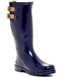 c3b8f44e0231 Chooka - Top Solid Waterproof Rain Boot - Lyst