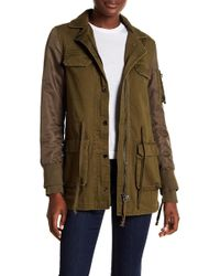 Doma Leather - Combined Army Jacket - Lyst
