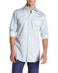 Peter Millar - What Goes Up Arrow Print Linen Regular Fit Shirt - Lyst