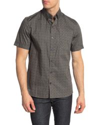 Kennington Spiffy Slim Fit Shirt - Grey