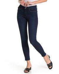 Joe's Jeans Wilton Mid Rise Ankle Skinny Jeans - Blue