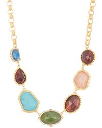 Kate Spade Perfectly Imperfect Stone Station Necklace - Multicolour