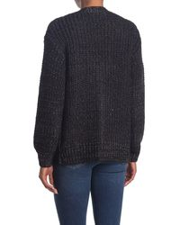 ModCloth Warming Signs Knit Cardigan - Black