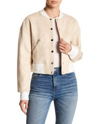 Fate - Colorblock Bomber Jacket - Lyst