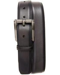 Magnanni - Butter Blade Leather Belt - Lyst
