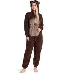 Pj Salvage - Critter Hooded Jumpsuit - Lyst