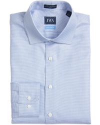 John W. Nordstrom - (r) Trim Fit Solid Dress Shirt - Lyst