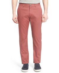 Bonobos - Straight Fit Washed Chinos - Lyst