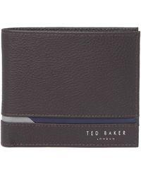 Ted Baker - Sailbot Bifold Wallet - Lyst