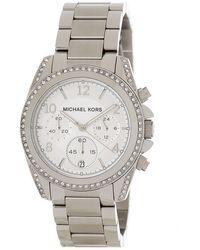 MICHAEL Michael Kors Women's Delrey Rose Gold-tone Bracelet Watch - Multicolor