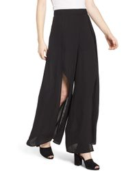 4si3nna - Wide Leg Wrap Pants - Lyst
