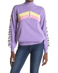 Cecilie Copenhagen Lilian Sweater - Purple