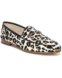Sam Edelman Women's Loraine Leopard Print Loafers - Multicolor